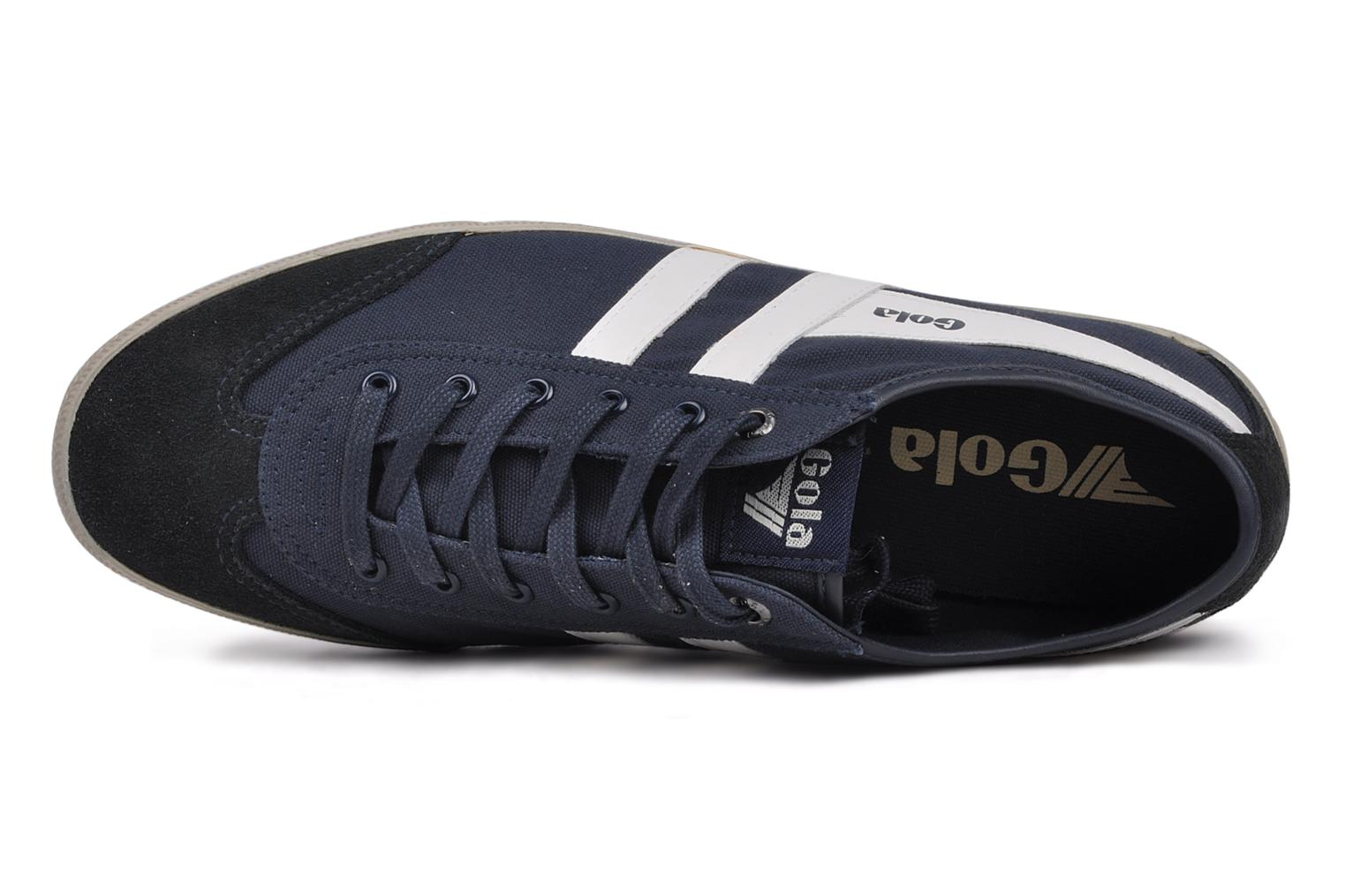 Trainers Gola Quarrel M Blue view from the left