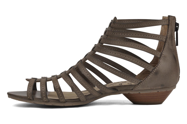 Sandalen Mustang shoes Runy beige ansicht von vorne