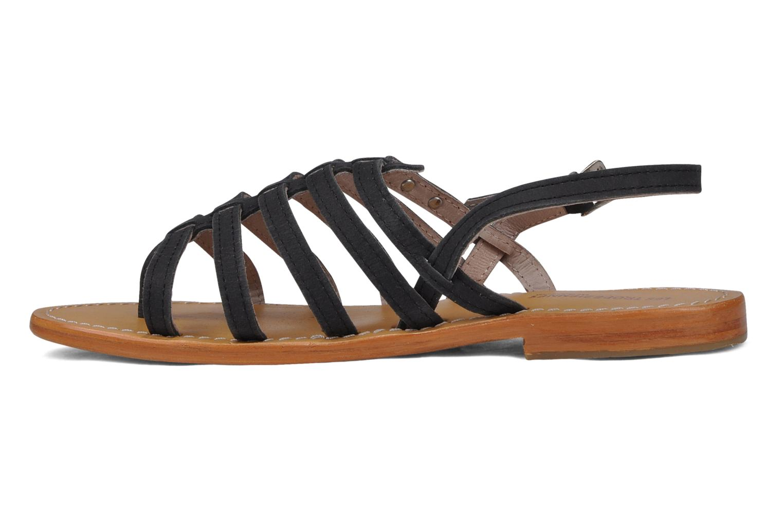 Sandales et nu-pieds Les Tropéziennes par M Belarbi Hook Noir vue face