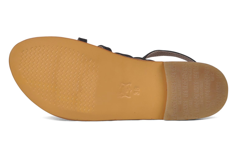 Sandales et nu-pieds Les Tropéziennes par M Belarbi Hook Noir vue haut