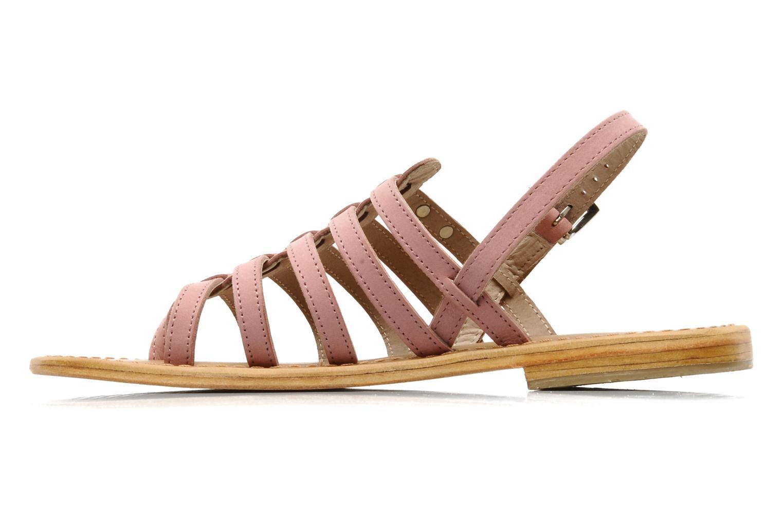 Sandales et nu-pieds Les Tropéziennes par M Belarbi Hook Rose vue face