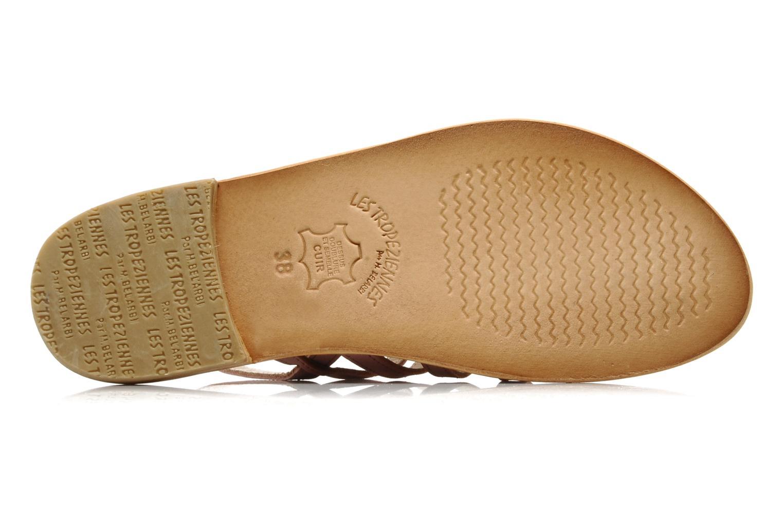 Sandales et nu-pieds Les Tropéziennes par M Belarbi Hook Rose vue haut