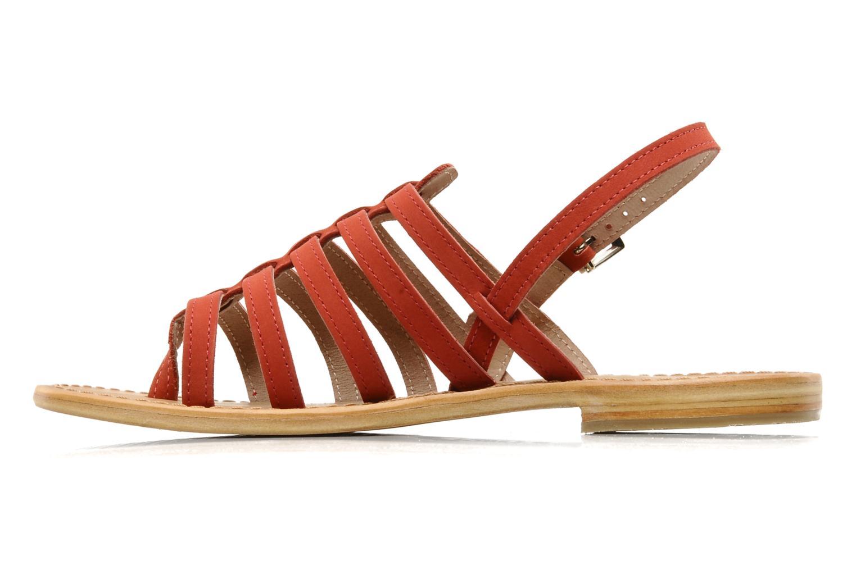 Sandales et nu-pieds Les Tropéziennes par M Belarbi Hook Rouge vue face