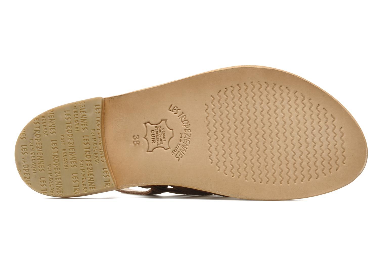 Sandales et nu-pieds Les Tropéziennes par M Belarbi Hook Marron vue haut