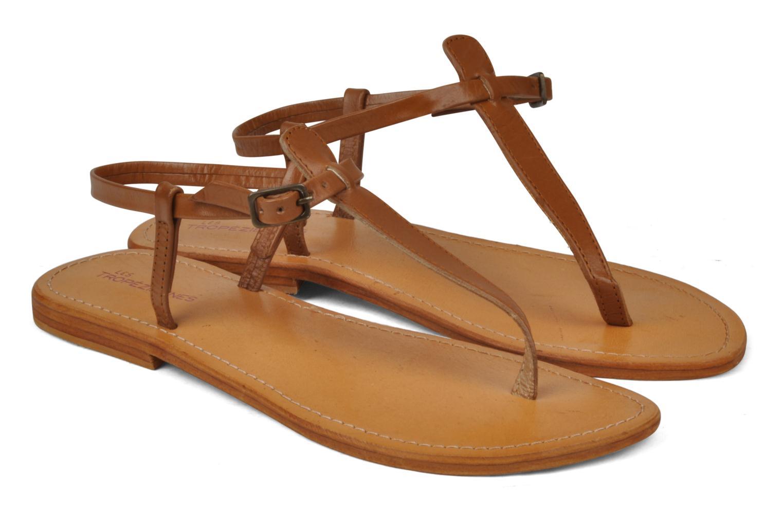 Sandals Les Tropéziennes par M Belarbi Narvil Brown 3/4 view