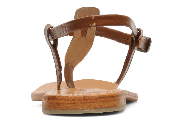 Sandali e scarpe aperte Les Tropéziennes par M Belarbi Narvil Marrone immagine destra