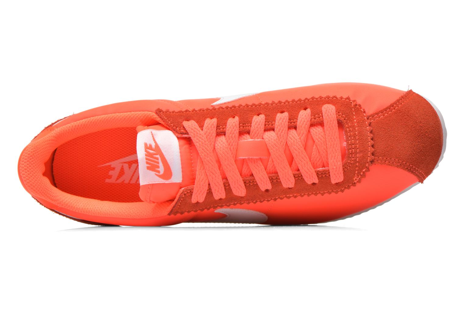 Baskets Nike Wmns Classic Cortez Nylon Orange vue gauche