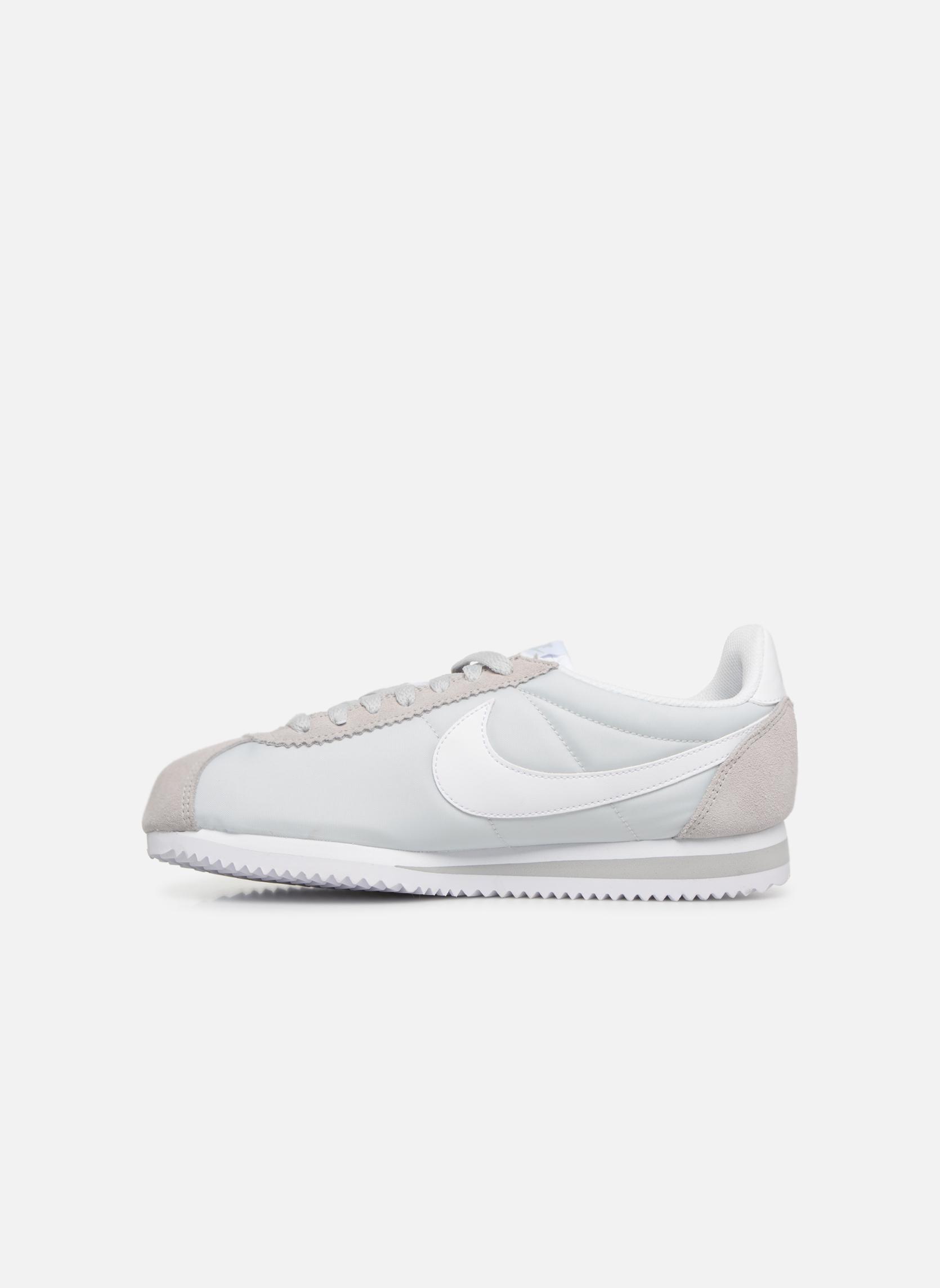 Sneaker Nike Wmns Classic Cortez Nylon grau ansicht von vorne