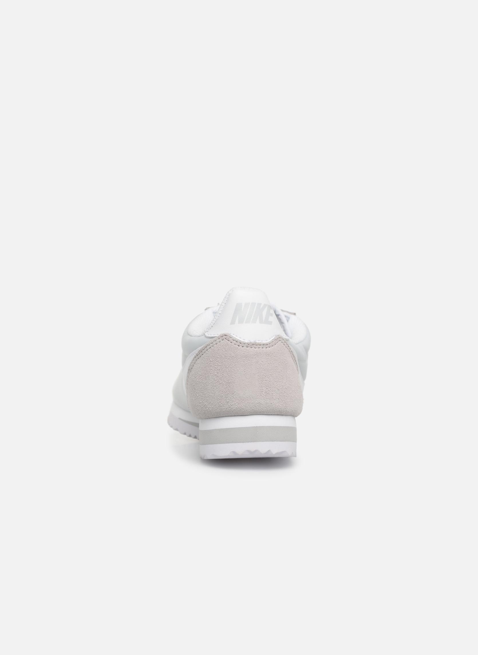 Deportivas Nike Wmns Classic Cortez Nylon Gris vista lateral derecha