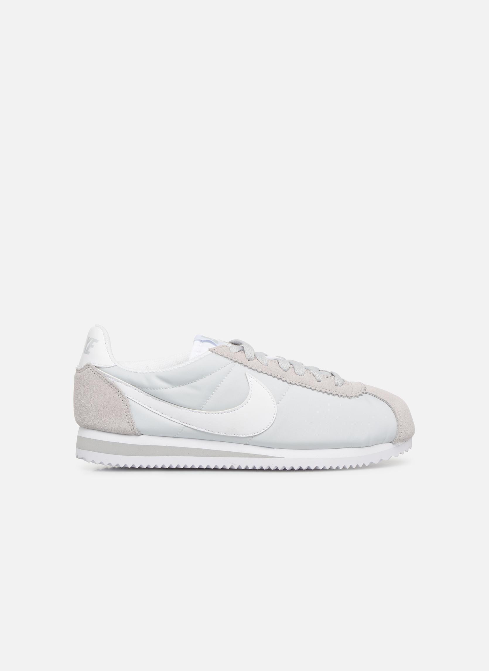 Sneaker Nike Wmns Classic Cortez Nylon grau ansicht von hinten