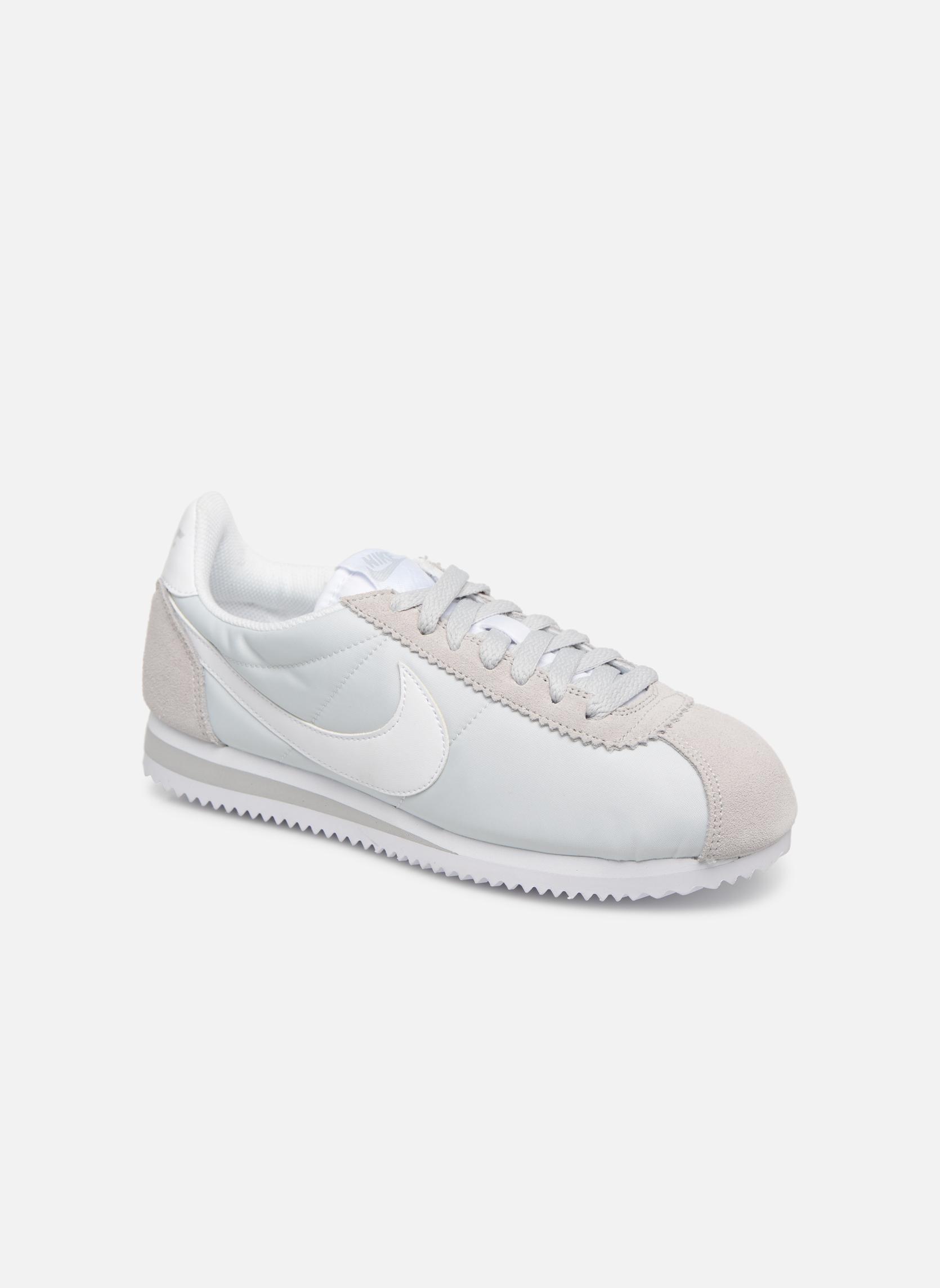 Grandes descuentos últimos zapatos Nike Wmns Classic Cortez Nylon (Gris) - Deportivas Descuento