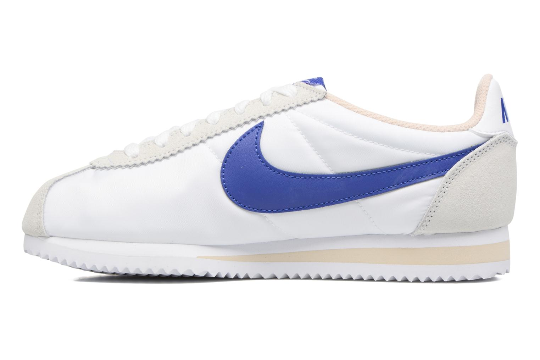 Sneaker Nike Wmns Classic Cortez Nylon weiß ansicht von vorne