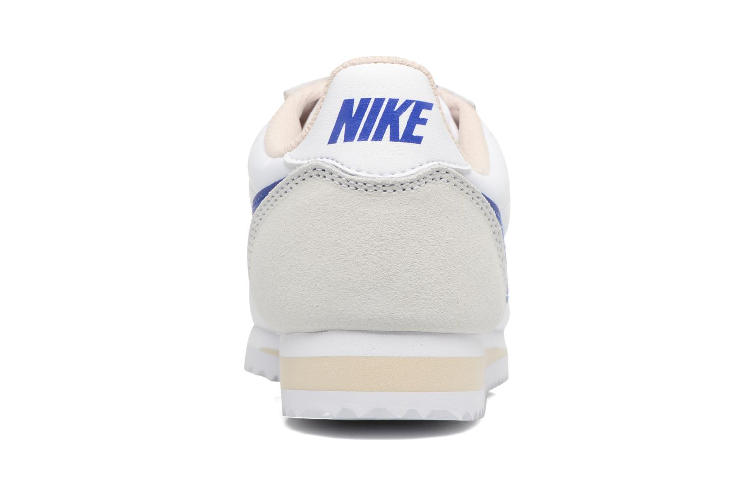 Trainers Nike Wmns Classic Cortez Nylon White view from the right