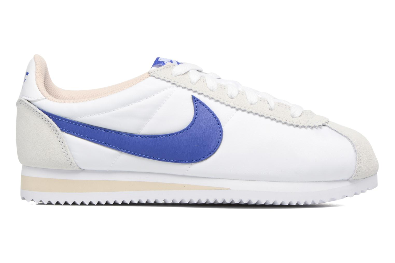 Sneakers Nike Wmns Classic Cortez Nylon Wit achterkant