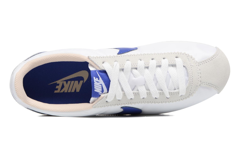 Sneaker Nike Wmns Classic Cortez Nylon weiß ansicht von links