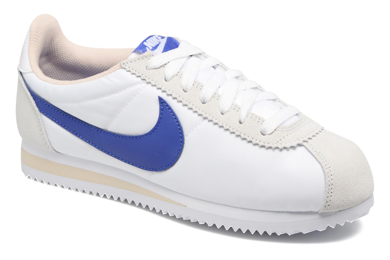 Nike Wmns Classic Cortez Nylon (Blanc) - Baskets chez Sarenza (280929)