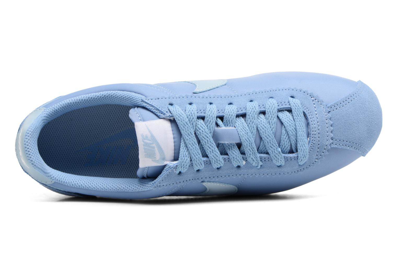 Baskets Nike Wmns Classic Cortez Nylon Bleu vue gauche