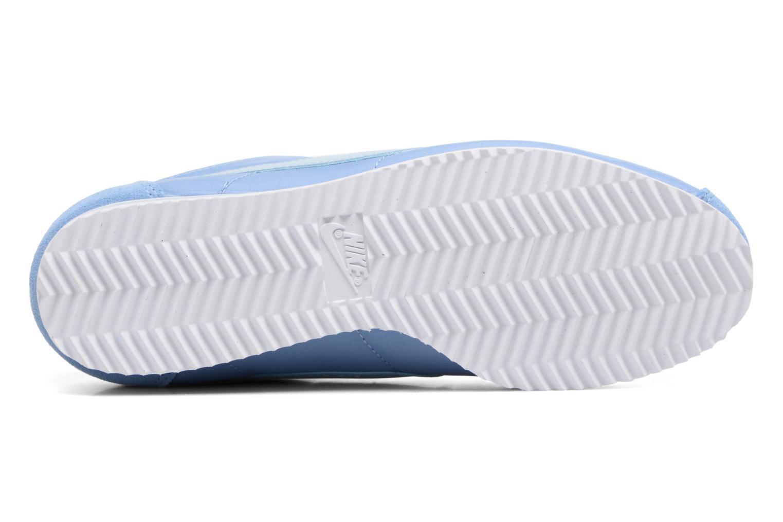 Baskets Nike Wmns Classic Cortez Nylon Bleu vue haut