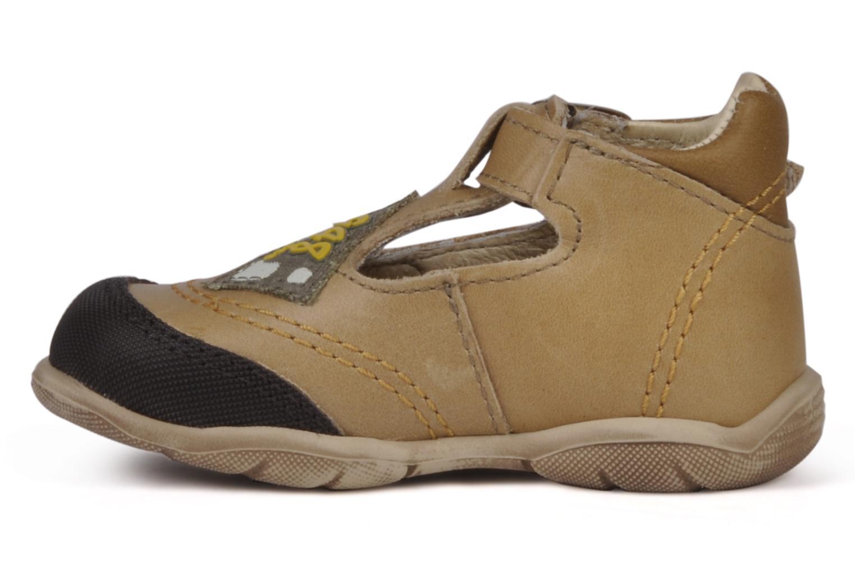 Boots en enkellaarsjes GBB Leopold Bruin voorkant