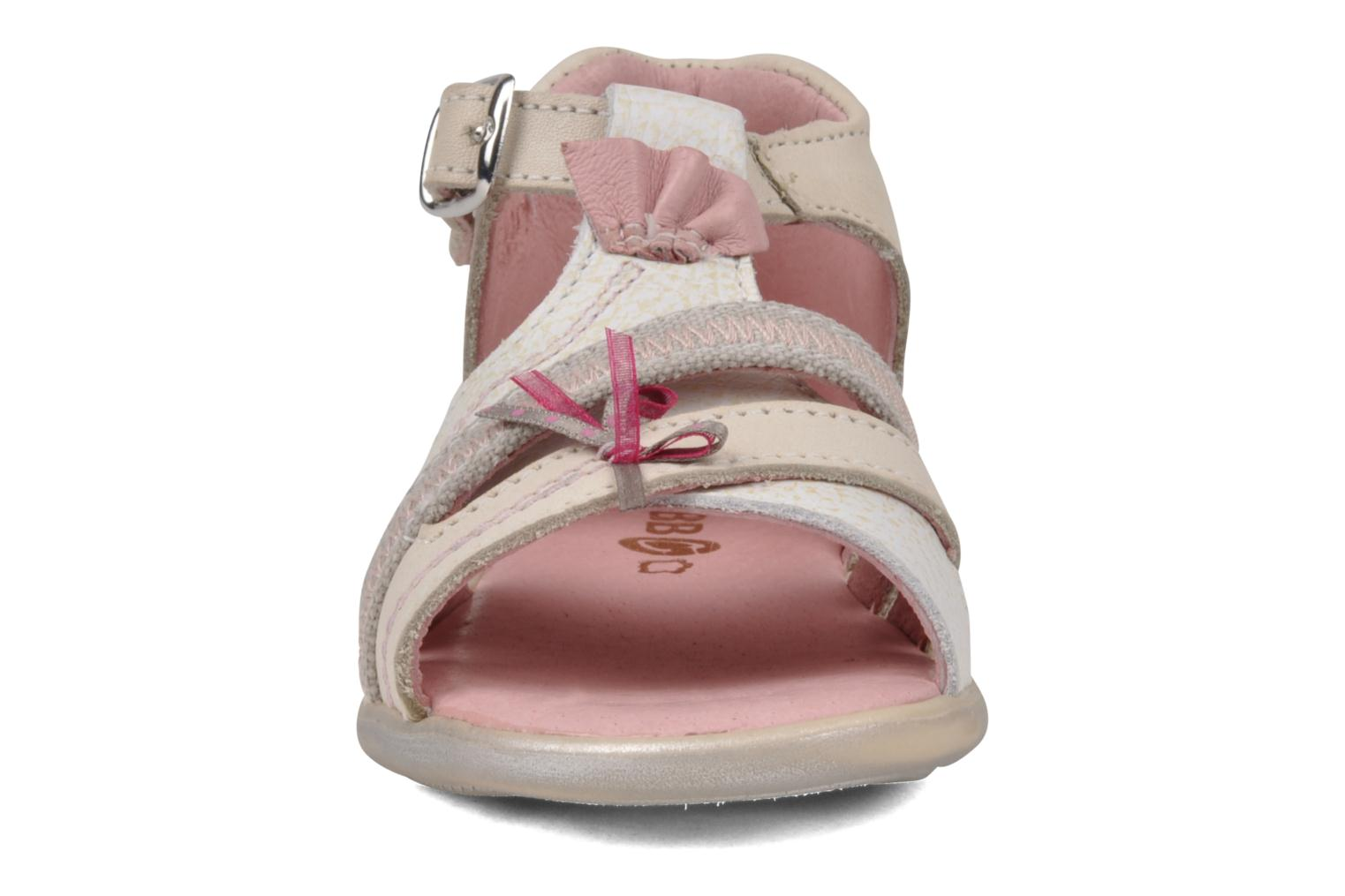 Sandals GBB Lorie Beige model view
