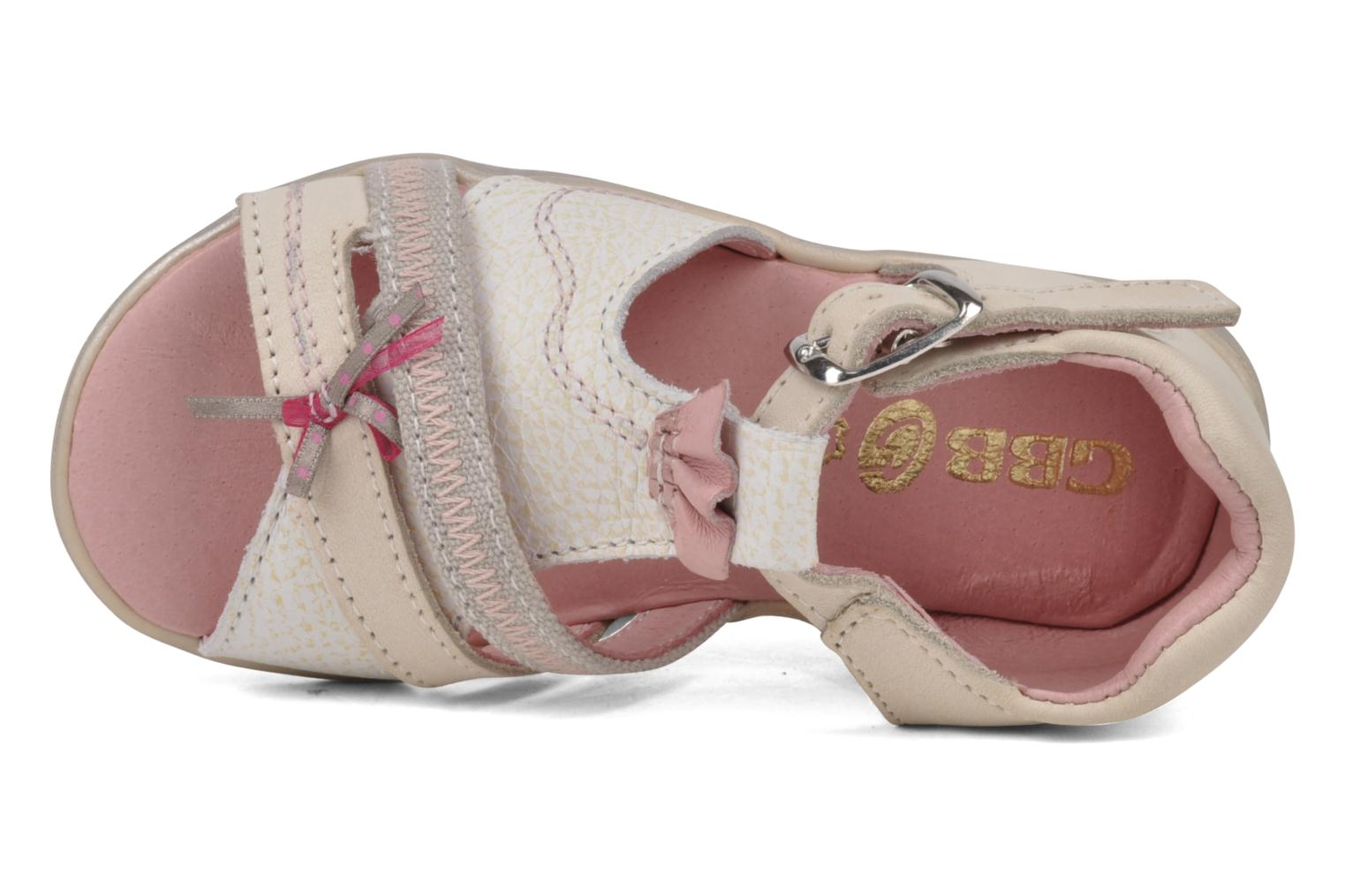 Sandals GBB Lorie Beige view from the left