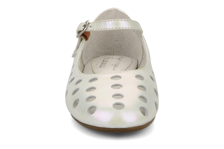 Ballerines Mellow Yellow Minihouston Blanc vue portées chaussures
