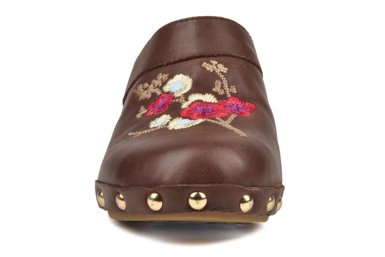 Sandales et nu-pieds Mellow Yellow Minihokkaido Marron vue portées chaussures