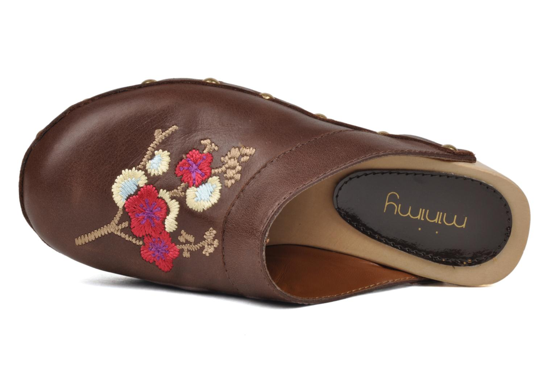 Sandales et nu-pieds Mellow Yellow Minihokkaido Marron vue gauche