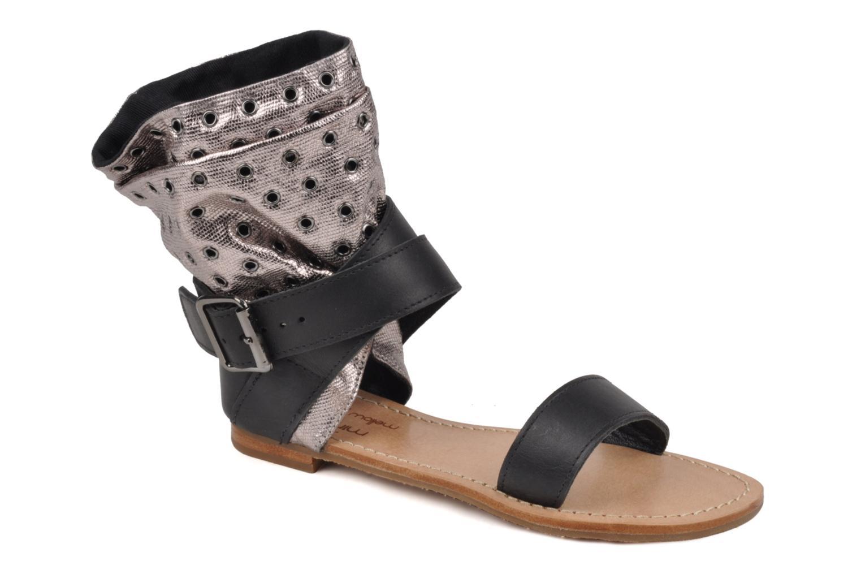Sandaler Mellow Yellow Minihopeful Sølv detaljeret billede af skoene