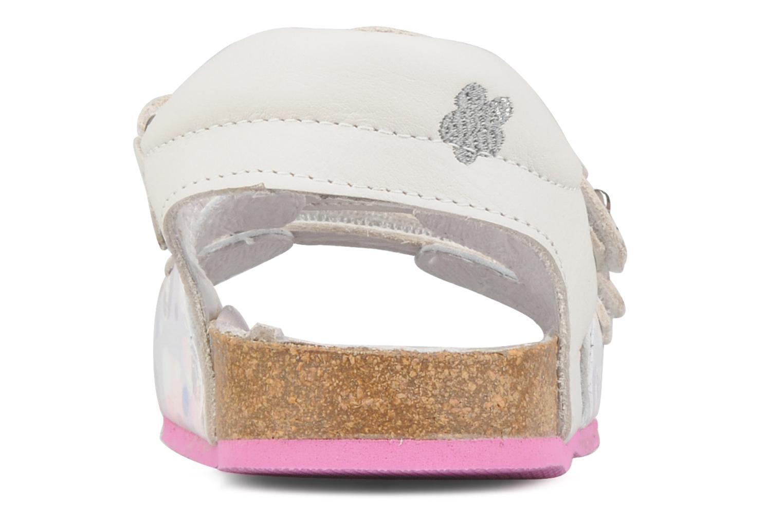 Sandales et nu-pieds Hello Kitty Kijou Blanc vue droite