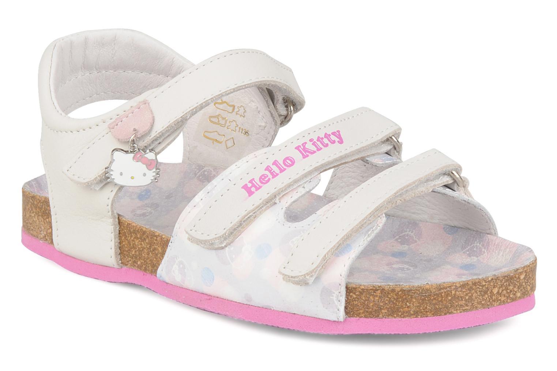 Sandales et nu-pieds Hello Kitty Kijou Blanc vue détail/paire
