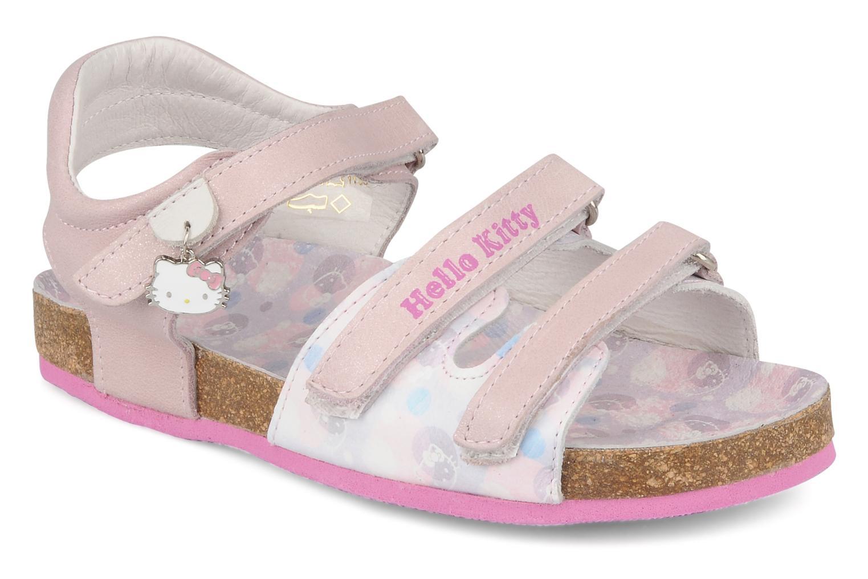 Sandalias Hello Kitty Kijou Rosa vista de detalle / par