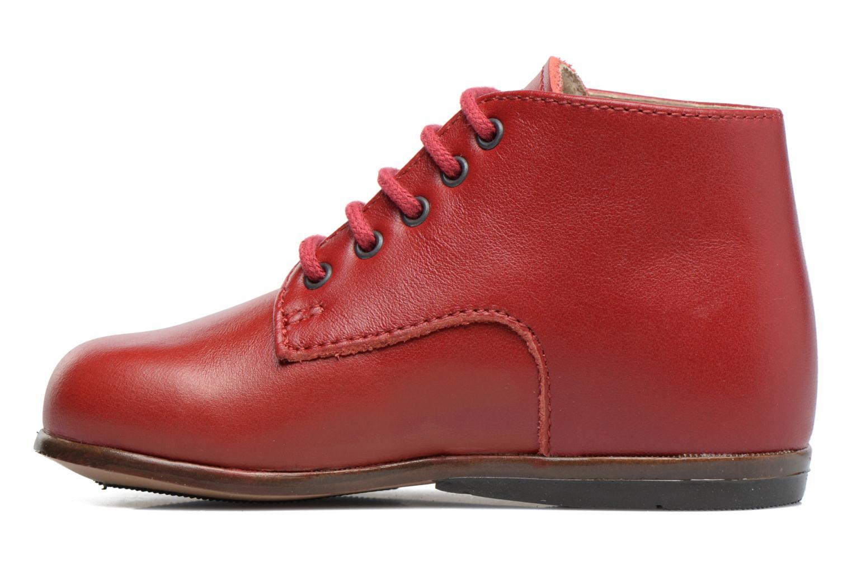 Bottines et boots Little Mary Miloto Rouge vue face