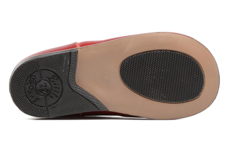 Bottines et boots Little Mary Miloto Rouge vue haut