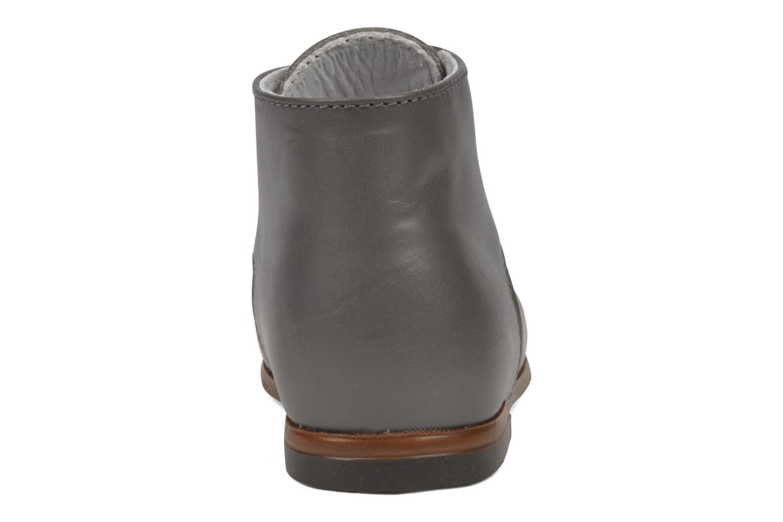 Bottines et boots Little Mary Miloto Gris vue droite