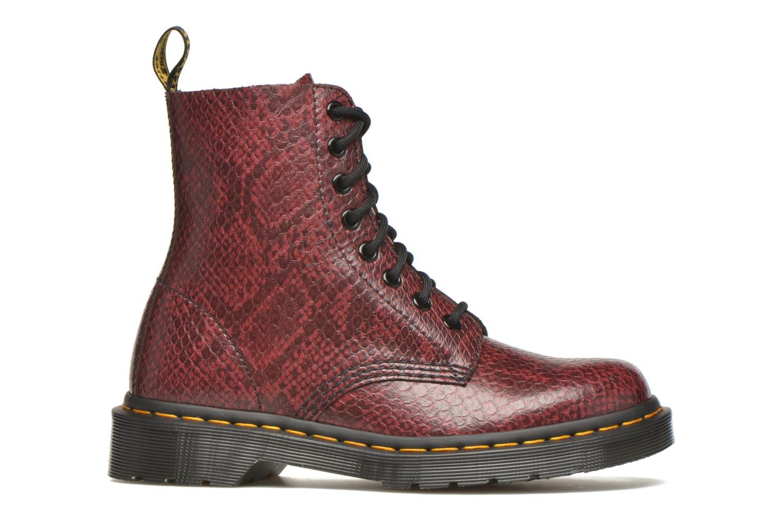 Bottines et boots Dr. Martens Pascal W Bordeaux vue derrière