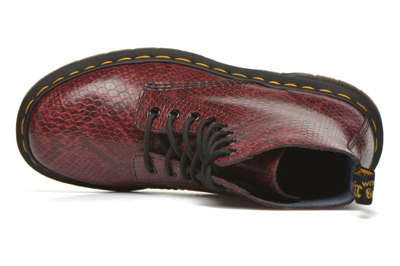 Bottines et boots Dr. Martens Pascal W Bordeaux vue gauche