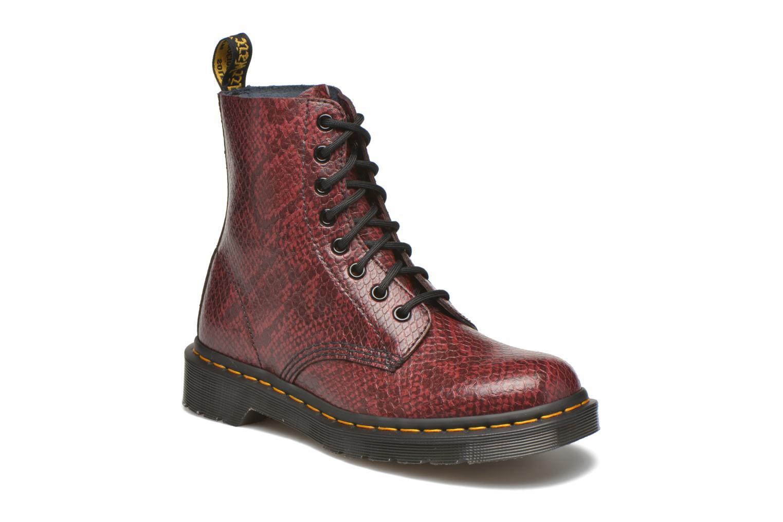 Bottines et boots Dr. Martens Pascal W Bordeaux vue détail/paire