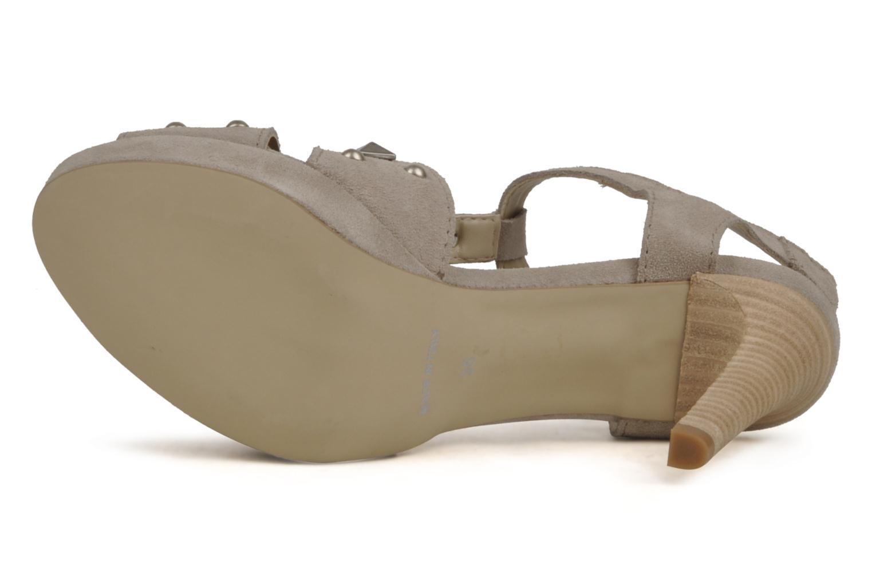 Sandales et nu-pieds Eden Oreade Beige vue haut