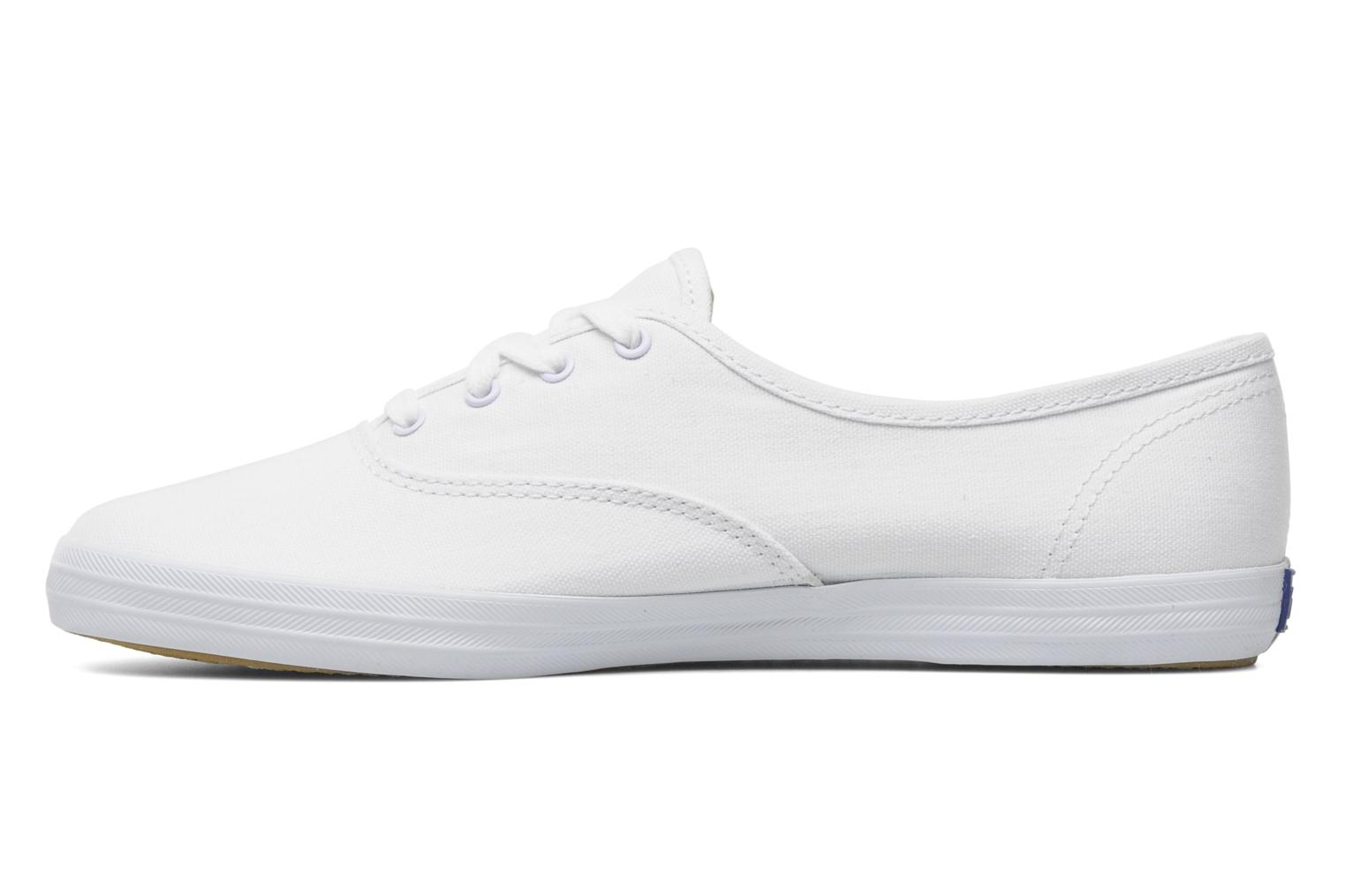 Sneakers Keds Champion Canvas Bianco immagine frontale