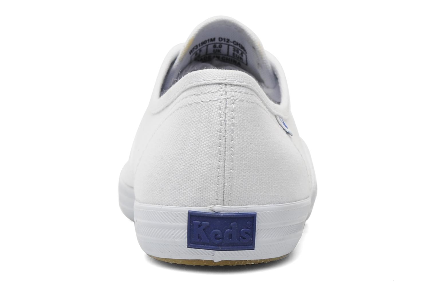 Sneakers Keds Champion Canvas Bianco immagine destra