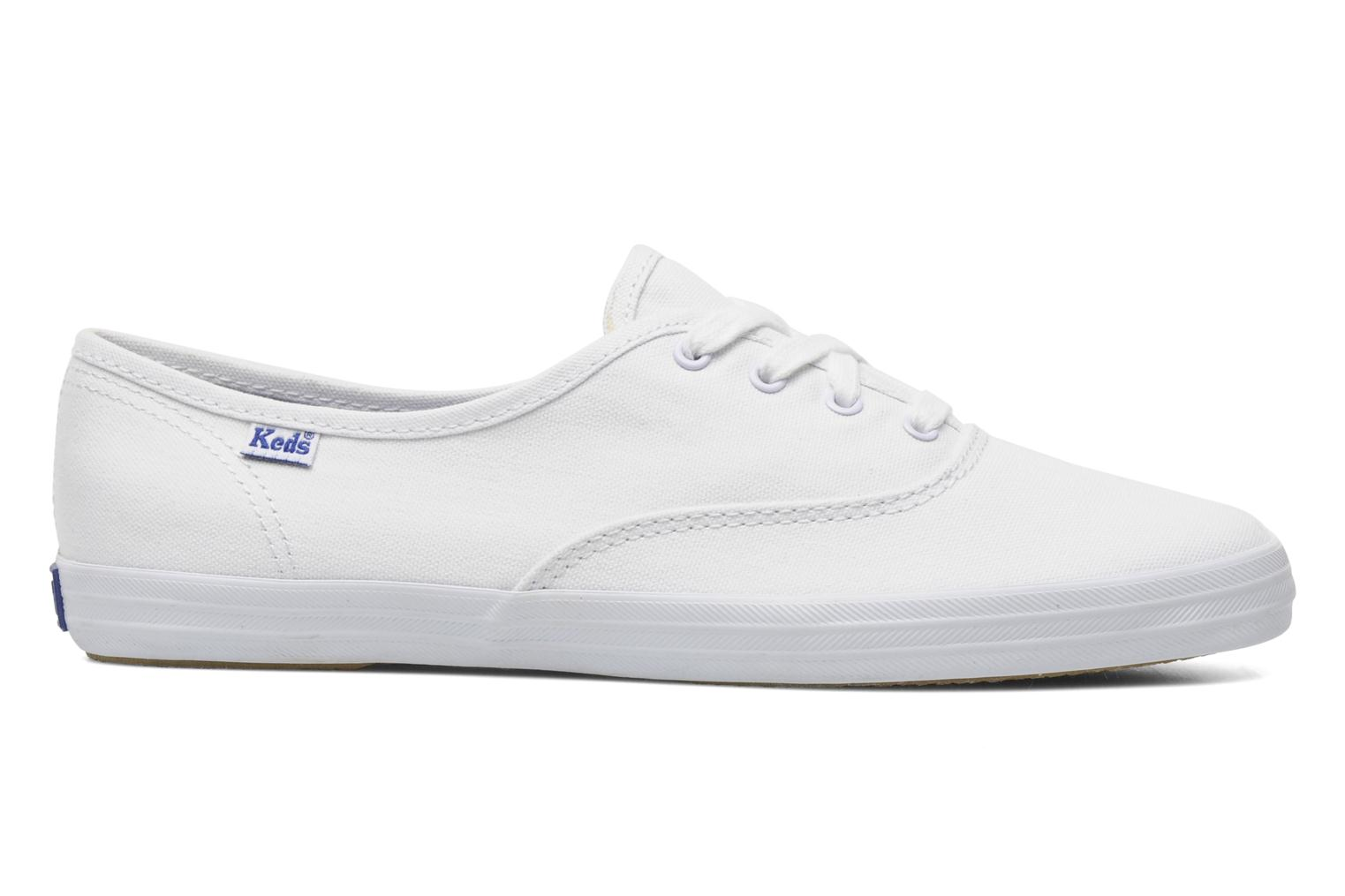 Sneakers Keds Champion Canvas Bianco immagine posteriore