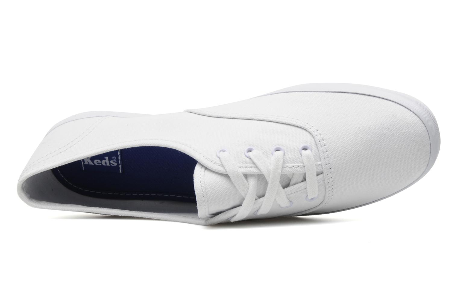 Sneakers Keds Champion Canvas Bianco immagine sinistra
