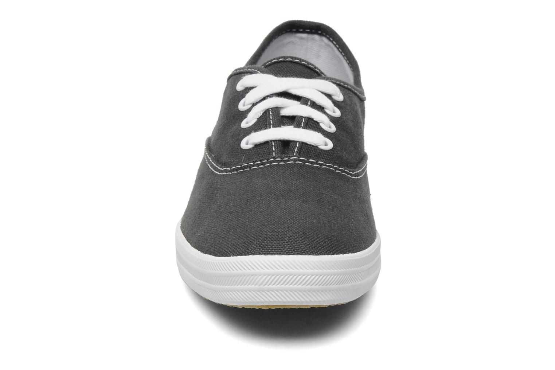 Sneaker Keds Champion Canvas blau schuhe getragen