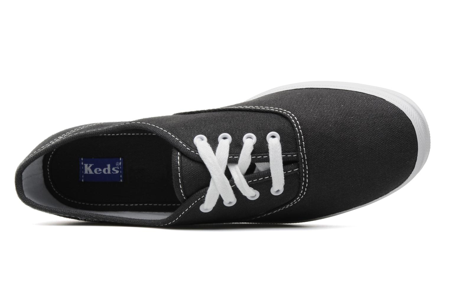 Trainers Keds Champion Canvas Blue view from the left
