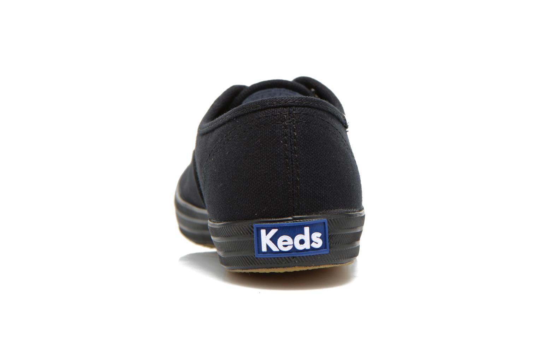 Sneaker Keds Champion Canvas schwarz ansicht von rechts