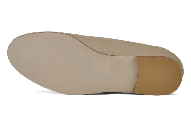 Chaussures à lacets Planisphere Nelly papaye Beige vue haut