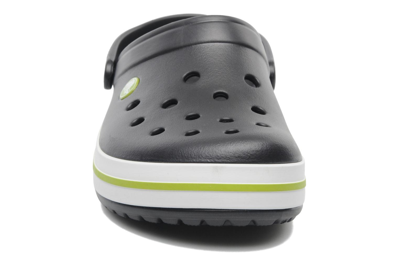 Sandales et nu-pieds Crocs Crocband M Noir vue portées chaussures