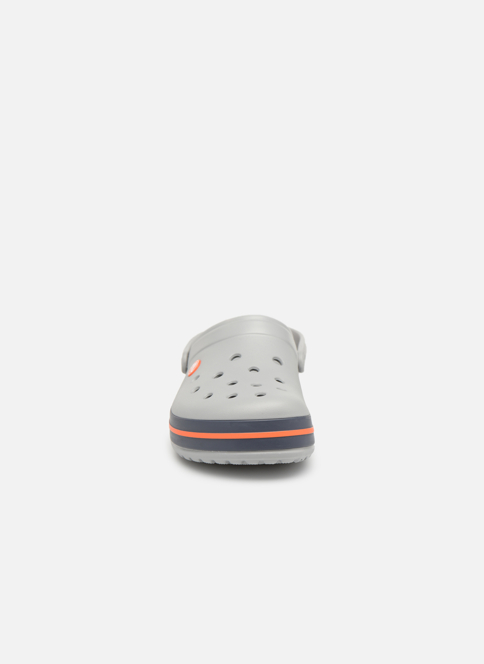 Crocband M Light Grey/Navy