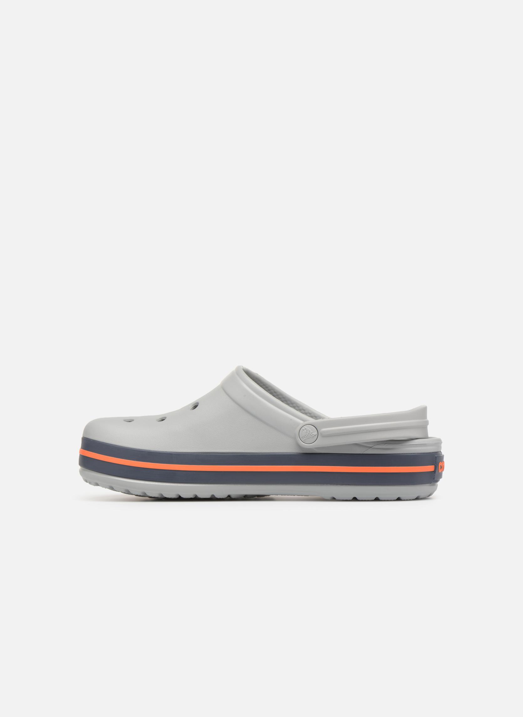 Sandals Crocs Crocband M Grey front view